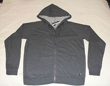 Bonds Basics Ladies Charcoal Grey Zip Up Hoodie Jumper Top Size XL New CXKEI