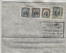 Chile Airmail Cover w/ heavy crease