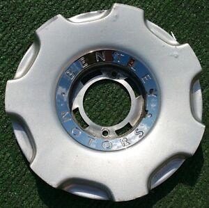 Genuine OEM Factory Bentley Azure Arnage Silver 19 inch Wheel CENTER CAP Centre