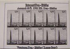 Stadspost Den Helder 2007 - Vuurtorens Den Helder (Lighthouses) zwartdruk proef2