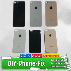 Apple iPhone 8 & 8 Plus Rear Glass Back Cover Panel Replacement with ADHESIVE
