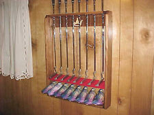 Magnet Golf Club Wood Display Rack for 8 Scotty Cameron Putters & 8 Headcovers