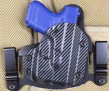 Fits Glock 26/27 w/ TLR6 IWB/OWB Morph Hybrid Holster, Carbon Fiber Kydex