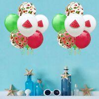 12PCS Hawaiian Flamingo Confetti Balloon Wedding Birthday Party Decoration New