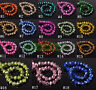 4mm 6mm 8mm 10mm Plated Charms Faceted Rondelle Crystal Glass Loose Spacer Beads