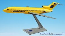 Hughes Airwest 727-200 Airplane Miniature Model Plastic Snap-Fit 1:200