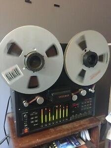 """Tascam TSR-8 - 8 Track 1/2"""" Reel To Reel Tape Recorder and Fostex 812 Mixer"""