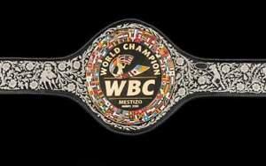 NEW WBC MESTIZO MAVO 2021 wrestling boxing belt replica 4mm original leather