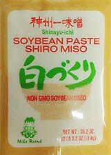 Miko - Soybean Paste Shiro Miso NON GMO No MSG Added 35.2oz Free 2 Day Ship