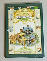 Collecting David Winter Cottages by John Hine 1989 Illustrated Hardcover Book