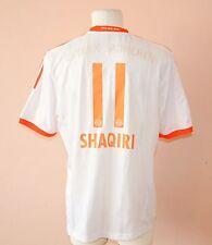 2012 - 2013 BAYERN MUNICH, AWAY FOOTBALL JERSEY BY ADIDAS, XL, #11 SHAQIRI