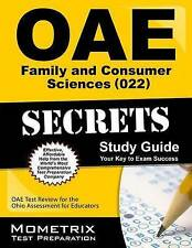 OAE Family and Consumer Sciences (022) Secrets Study Guide: OAE Test Review for