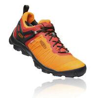 Keen Mens Venture Waterproof Walking Shoes Orange Sports Outdoors Breathable