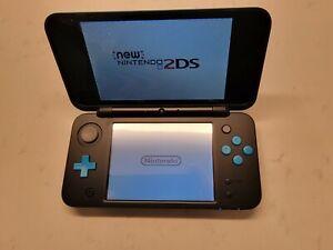 Nintendo New 2DS XL - Black & Turquoise - Authentic Premium Refurbished