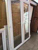 UPVC Patio Doors White (Open Out)