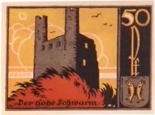 1921 Germany  SAALFELD 50  Pnennig  Notgeld / Banknote