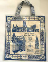 Durham Cathedral England Tote Bag Tourist Blue Flat Shopper Countryside Art