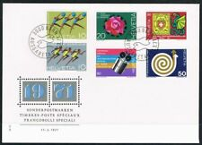 Switzerland 1971. FDC. Events of 1971