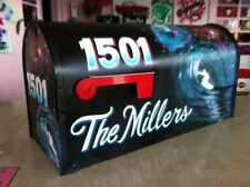 *Custom Painted* Rural-Style LARGE Size MAILBOX *your design idea BOTH SIDES*
