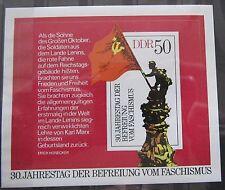 DDR Briefmarken 1975 Block 42 30.Jahrestag der Befreiung vom Faschismus **