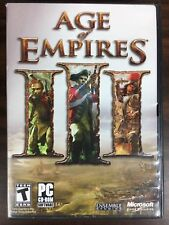 Age of Empires 3 III PC Game Complete With Manuals And Key Code