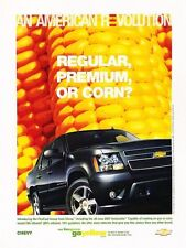 2007 Chevrolet Avalanche Original Advertisement Print Car Ad J531