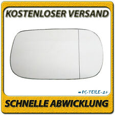 Spiegelglas für LEXUS IS200 / IS300 1999-2005 rechts Beifahrerseite asphärisch