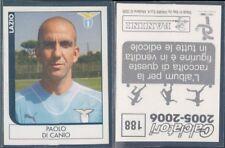 FIGURINA CALCIATORI PANINI 2005/06-LAZIO,PAOLO DI CANIO-N.188-NUOVA,PERFETTA