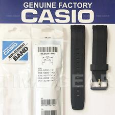 CASIO 10360106 GENUINE FACTORY BLACK BAND: EQS-500C EQW-M600C ERA-200B ERA-300B