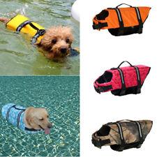 Dog Life Jacket Pet Swimming Safety Vest Reflective Aquatic Aid Float Preserver