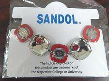 New University of Georgia Bulldogs Uga Team Logo Charm Bracelet