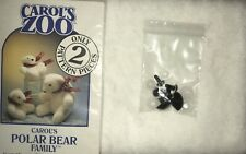 Carols Zoo Stuffed Polar Bear Two Sizes Kit