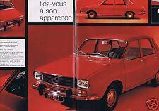 Coupure de presse Clipping 1969 Renault la R12  (8 pages)