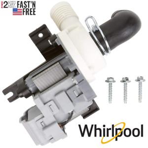 Washer Water Drain Pump Whirlpool Cabrio WTW6600SW Maytag Bravos Quiet Serie 300
