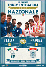 DVD N°9 LE PARTITE INDIMENTICABILI DELLA NAZIONALE ITALIA VS SPAGNA 2-1 USA 1994