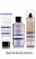 Bath Body Works LAVENDER SANDALWOOD Fine Fragrance Mist Spray Body Wash & Cream