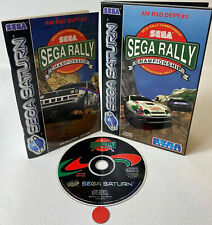 Sega Rally Championship   SEGA Saturn   gebraucht in OVP