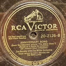 RCA Victor 20-2126TEX BENEKE & HIS ORCH. - HOODLE ADDLE / ANNIVERSARY SONG VG
