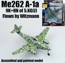 WW2 German Me 262 A-1a fighter plane aircraft by Witzmann finished Easy model