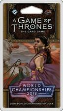 A Game of Thrones LCG 2nd Edition - 2018 Joust World Championship Deck