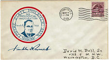 1933 Cover Empire State Philatelic Ass'n US Presidential Inauguration FDR