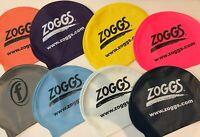 Zoggs Silicone Swim Cap Multi Colours Adult Unisex Easy Stretch Swimming Hat