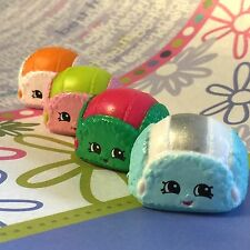 Shopkins Season 3 Christmas Exclusive 2015 Flappy Cap set of 4 VHTF!!