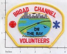 New York City NY Fire Dept Broad Channel Volunteer Fire Dept Patch v6
