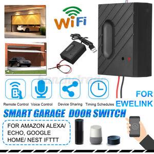 Car Garage Door Opener Smart WiFi Switch APP Control Support For eWeLink Phone