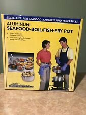 Eastman Outdoors Aluminum 10.5 qt. Seafood-Boil-Fish Fry Pot - Brand New In Box