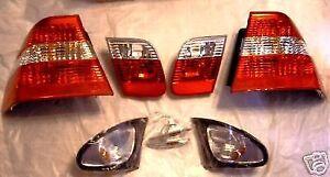 BMW E46 3 Series Sedan 2002-2005 Genuine OEM European Clear Lamp KIT NEW