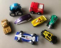 Lot of 8 Toy Mini Cars Mostly Vintage - Hot Wheels Nasta Mattel Lancia Etc.