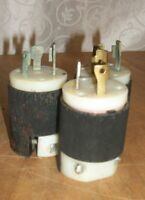 Lot of 3 Hubbell 30A 250V MALE Twist-Lock Plug