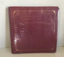 New Sealed Creative Memories 12x12 Scrapbook Album Cranberry